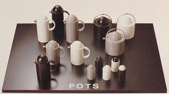 第1回(1986年)開催時の陶磁器デザイン部門のグランプリ受賞作品「POTS」